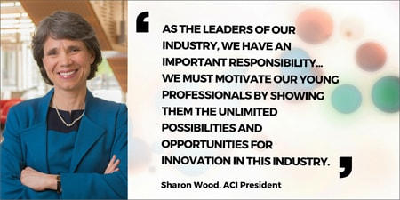 ACI President Sharon Wood